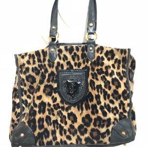 Juicy couture wild things Nikola tote leopard